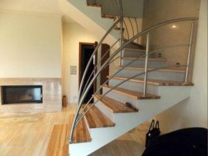 schody drewniane Brzeg